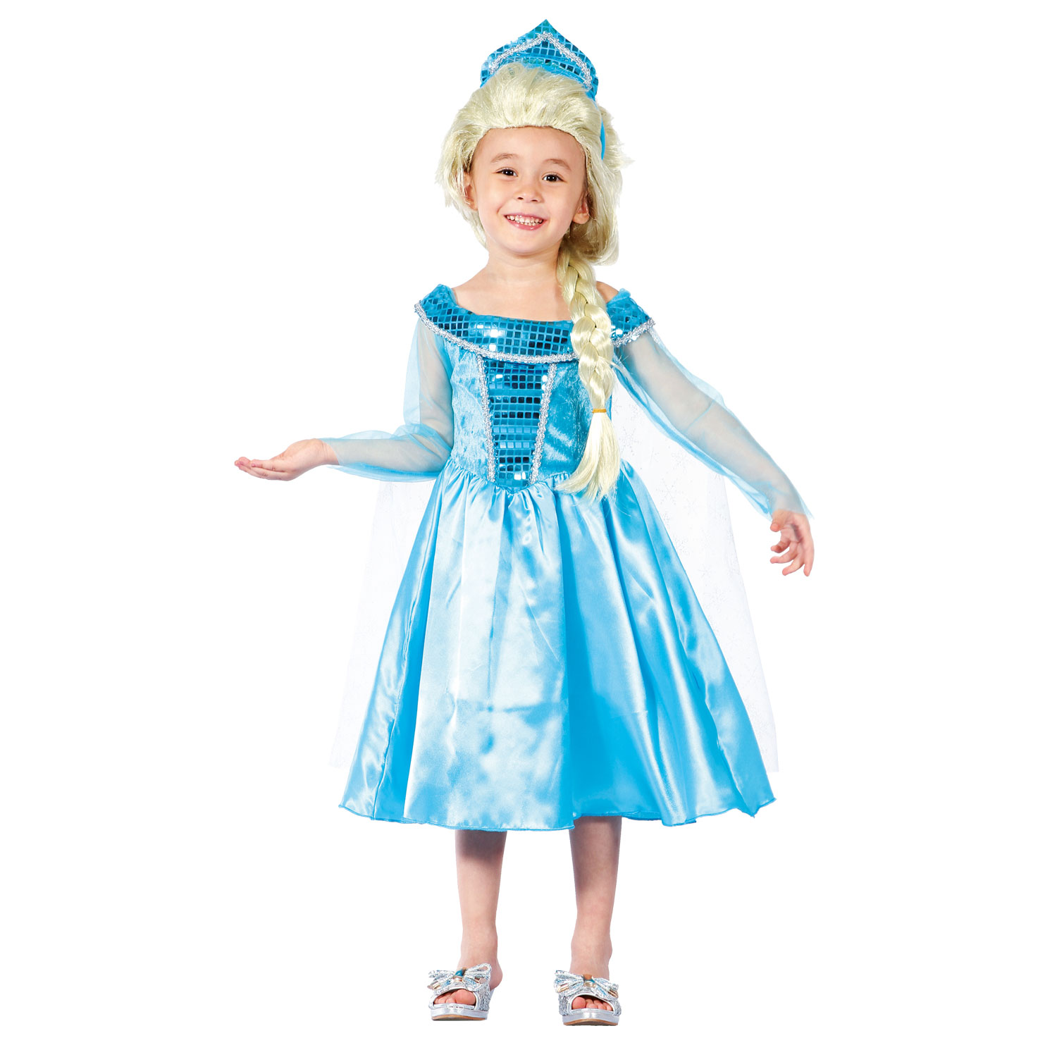 Kinderkostuum Winter Prinses, 3-4 jaar